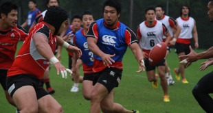 japan brave blossoms cherry shota horie training rugby world cup americas rugby news