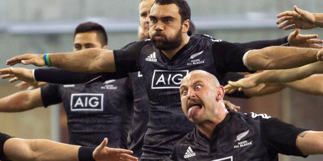 haka charlie ngatai hayden triggs timatanga nz new zealand maori all blacks americas rugby news