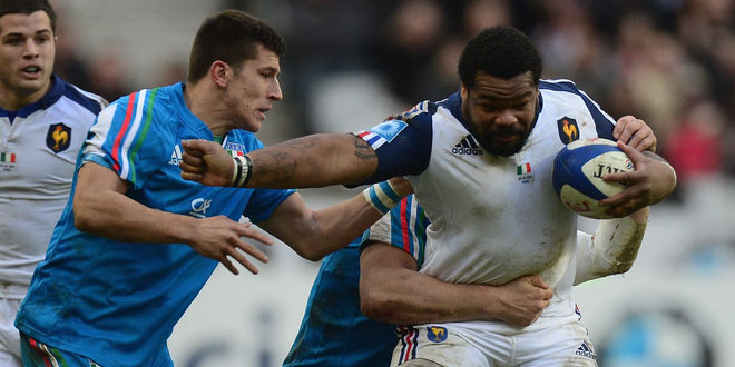 france les bleus italy azzurri tommaso allan mathieu bastareaud rugby world cup americas rugby news
