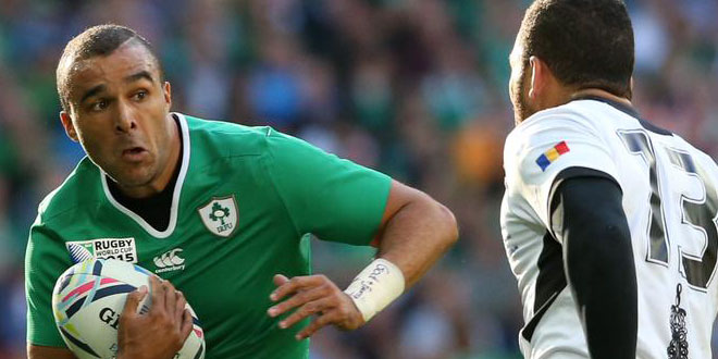 ireland romania simon zebo rugby world cup americas rugby news