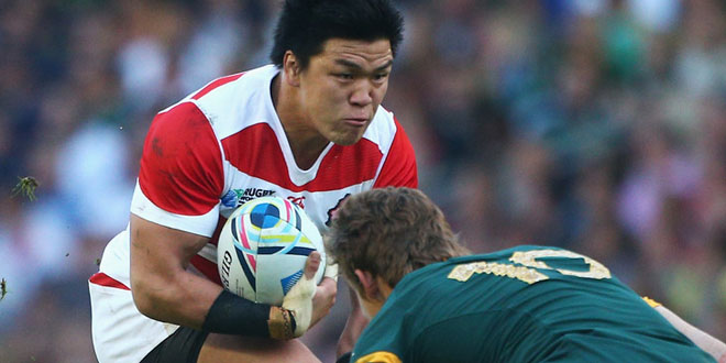 japan brave blossoms harumichi tatekawa south africa rugby world cup americas rugby news