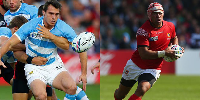 argentina tonga pumas ikale tahi rugby world cup americas rugby news juan imhoff siale piutau