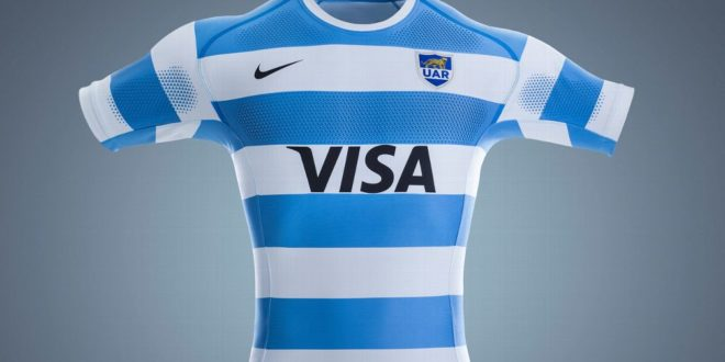 riesgo Mezquita Pies suaves  Nike Release Two New Argentina Uniforms for 2017 - Americas Rugby News