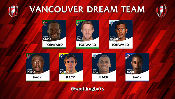 Perry Baker named to Vancouver Dream Team - Americas Rugby ...