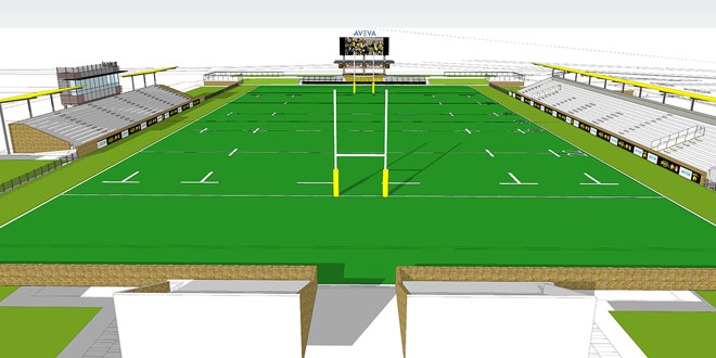 Sabercats Set To Break Ground On Aveva Stadium