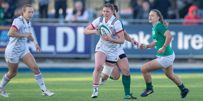 Women S Eagles End Tour With Win Over Ireland Americas Rugby News